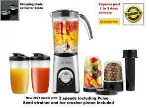 Nutrimix Bullet Style Blender Juicer Mixer coffee grinder nuts smoothie 400W