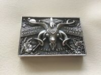 High Relief Silver Art Bar, 4 OZ Ouija, Only 25 Pieces Made 25/25