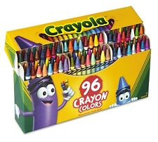 Crayola Classic Color Pack Crayons 96 Colors Box .