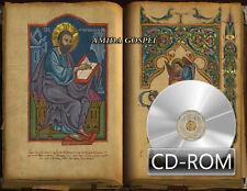 Amida Gospel of early illuminated Manuscript 17th century Digitized