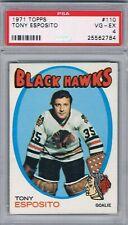 1971-72 Topps #110 Tony Esposito PSA 4