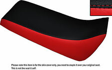 BLACK & RED CUSTOM FITS YAMAHA BLASTER 02-04 DUAL LEATHER SEAT COVER ONLY