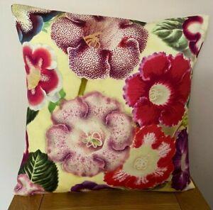 Designers Guild/John Derian **VARIETES DE GLOXINIA* Cotton  cushion cover ~ 40cm