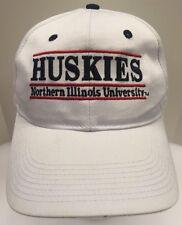 The Game Northern Illinois Huskies NIU White SnapBack Hat Cap Men's OSFA New