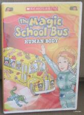 The Magic School Bus Human Body DVD by Scholastic  - NEW - Free Shipping