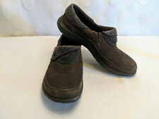 Merrell Dassie Women's Fold Moc Slip-On Shoes Bracken Brown Fleece Size 6.5