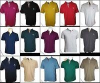 Burberry Brit men's short sleeve nova check placket polo shirt s,m,l,xl,2xl,3xl