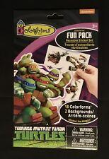 NEW!!! Colorforms Fun Pack Reusable Sticker Set  Teenage Mutant Ninja Turtles