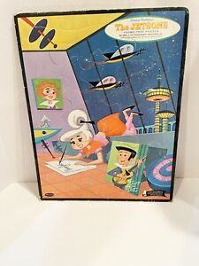 Vintage Frame Tray Puzzle The Jetsons Hanna Barbera's Whitman 1962 No.4423