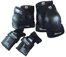 Adrenalin Skate Protection Pads Size Adult 6 Piece Set Elbows Knee Wrist Guards