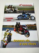Prospectus Catalogue Brochure Honda Gamme 2001