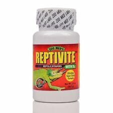Zoo Med Reptivite with D3 Reptile Vitamin & Calcium Powder 2oz
