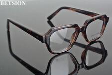 60s Vintage Tortoise Eyeglass Frames Eyewear Full Rim Glasses Rx able Spectacles