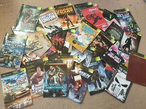 Over 150x Xbox Manuals, All £1.99 Each With Free Postage, Trusted Ebay Shop