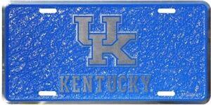 Kentucky Wildcats NCAA Mosaic License Plate