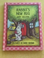 RABBIT'S NEW RUG,Judy Delton, Illustrated by Marc Brown, 1st Ed 1979 BRAND NEW!