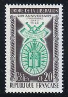France 1960 MNH Mi 1325 Sc 977 Order of Liberation, 20th anniversary WW2 **
