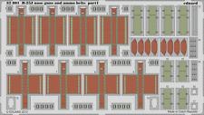 EDUARD 32801 Nose Guns & Ammo Belts for Hong Kong Model Kit B-25J in 1:32