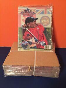 TIGER WOODS 2001 PGA Golf Legends Sports 20 Brand New Magazines Big Lot Vintage!
