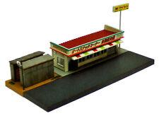 SR012 distributori automatici Self Bar H24 per stazione illuminati scala 1//8