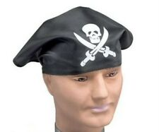 Pirate Skull & Swords Bandanna Head Wear Pirate Party Fancy Dress Hat