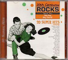 "Patti Page ""20th Century Rocks: '50S Pop Hey There!"" Cd 1997 dominion k-tel"