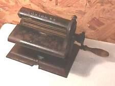 1876 Perin & Gaff Mechanical Fluting Machine