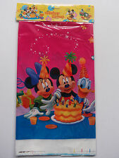 MICKEY MOUSE BIRTHDAY PARTY TABLECOVER TABLECLOTH NEW!