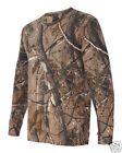 Code V REALTREE Mens Camo T-Shirt 3981 S-4XL Long Sleeve Camouflage AP APG HD