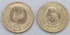 Indien / India 5 Rupees 2010 p381 unz.