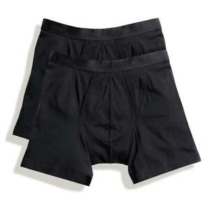 6 Pack Mens Fruit of the Loom Classic Boxer Shorts Under Wear Pants New Trunks