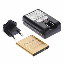 CARICA BATTERIA 220V+PILA 4350Mah per SAMSUNG GALAXY S5 SM-G900 USB RETE TAVOLO