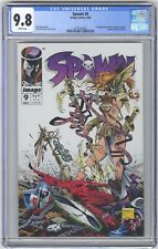 Spawn #9 CGC 9.8 HIGH GRADE Image Comic KEY 1st Angela (Now in Marvel, Thor)