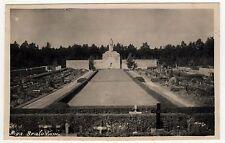 RIGA LATVIA Latvian PC Postcard BRALU KAPI Brothers Cemetery BRETHREN Graves