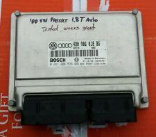 00-01 Passat Audi A4 1.8T 4B0906018B ECU Engine Computer Control Module OEM VW