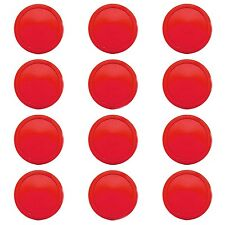 """Red Air Hockey Pucks Replacements 2.5"""" Game Table Equipment Accesories"""