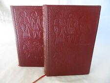 HERODOTE D'HALICARNASSE EDITIONS JEAN DE BONNOT - 2 VOLUMES - 1980 TBE