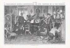 More details for 1909 fine art an englishmans home anton alexander von werner du maurier (dp4)