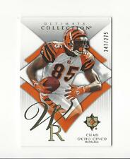 2008 Ultimate Collection #17 Chad Johnson Bengals /275