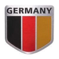 Deutschland 3D Chrom Aufkleber Sticker Auto Motorrad Fahne Emblem Flagge Schild