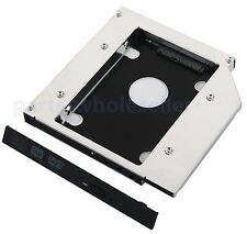 2nd Optical Hard Drive HD SSD Caddy Adapter For Asus F5GL Replace TS-L633A DVD