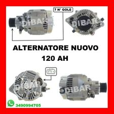ALTERNATORE NUOVO 120AH LAND ROVER DEFENDER-DISCOVERY '98 2.5 TD5 0986046541 2