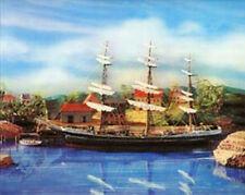 3D Lenticular Poster - Clipper Ship at Anchor  -  8x10 Print