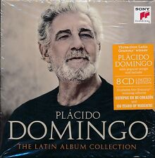Placido Domingo The Latin Album Collection box CD NEW 8-disc Limited edition