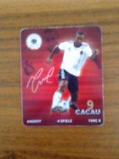 REWE Sticker, Sammelkarte - DFB  Fußball WM 2010 Nr. 9 Cacau