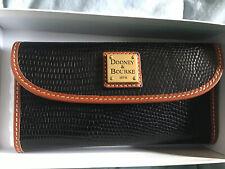 Dooney & Bourke Pebble Grain Continental Clutch Wallet