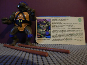 Donatello original 1988 TMNT figure