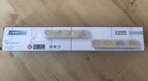 Livarno Living - Coat Rack for Nursery or Corridor Pack Of 2 40 X 7 X 4.2cm