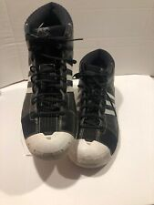 competitive price c8d9c 8c735 Rare Men s ADIDAS TS Pro Model Team White Black Basketball Shoes Size US 17  Used