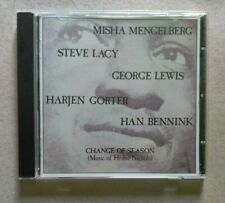 Misha Mengelberg - Steve Lacy... / Change Of Season..(CD Used) 121104-2 (C5)